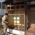 ビヨンド研修棟のトイレ解体