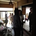 『花見+オープンハウス』の様子 ~大勢の人が来ることで明るく~