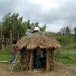 竹で秘密基地作り♪@ビヨンド自然塾