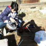 ビヨンド自然塾拠点施設の改修15 ~壁、床~ +ボランティアがきっかけでインターンに?!