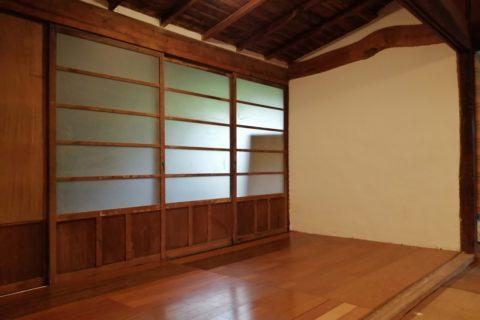 ビヨンド自然塾拠点施設の改修28 ~窓際の小部屋~